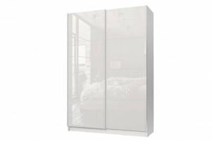 Марвин-3 СТЛ.299.05 Шкаф-купе Белый/Белый глянец