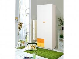 Радуга Шкаф 2-х дверный с ящиками