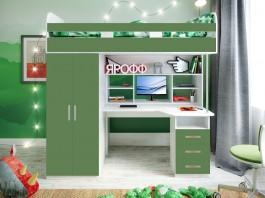 Кровать Аракс винтерберг-олива