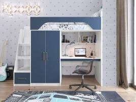 Кровать Тея Винтерберг-лазурь