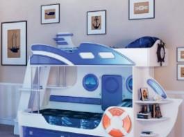 Парус Кровать двухъярусная «Яхта-2»