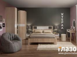 Композиция спальни WYSPAA №3