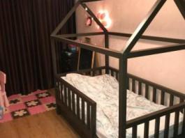 Детская кровать-домик ЛДСП