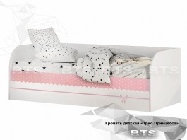Трио Принцесса Кровать детская (с подъёмным механизмом) КРП-01