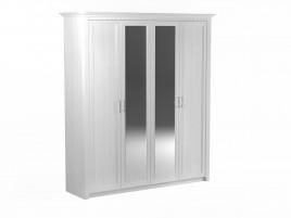 Клер Шкаф 4-х дверный