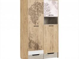 Дублин Стоун №10 Шкаф для одежды