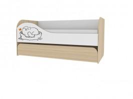 Кот №900.1 Кровать двухуровневая ПРАВАЯ