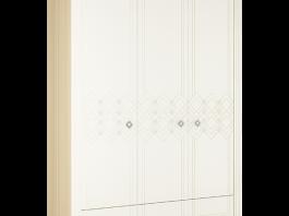 Капелла № 25 Шкаф 3-х створчатый 1860