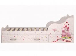 Принцесса №5 Кровать на 900 с ящиками