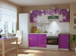 Кухня Орхидея 2,1 м.