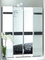 Престиж СП-04 Шкаф 4х-дверный с 2-мя зеркалами