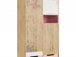 Дублин Роуз №10 Шкаф для одежды