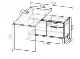 Карбон С2  стол лев\прав