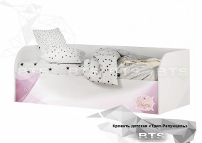 Трио Рапунцель Кровать детская (с подъёмным механизмом) КРП-01