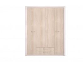 Мальта №11 Шкаф для одежды 4-х дв глухой
