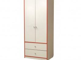 Юниор-10 Шкаф для платья и белья