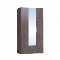Монако 444 Шкаф для одежды и белья Ясень Анкор темный
