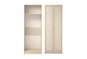 Брайтон №1 Шкаф для одежды 2-х дверный