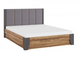 Моника Кровать с мягкой спинкой и коробом 1400 мм.