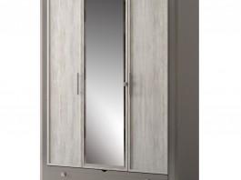 Фьорд №150 Шкаф для платья и белья 3-дв.