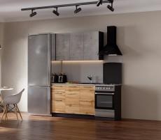 Кухня Акцент-Лофт-1 прямая 1200 мм.