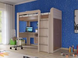 Кровать чердак Степ