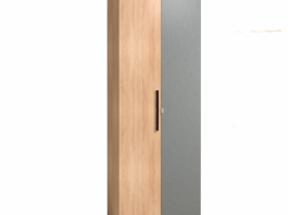 BAUHAUS Шкаф для одежды 8 глухой + зеркало