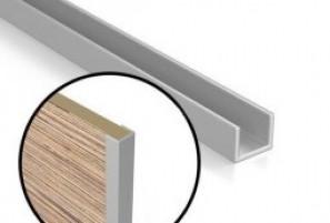 Планка торцевая для стеновых панелей 6 мм