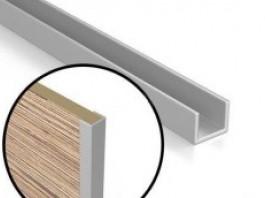 Планка торцевая для стеновых панелей 4 мм