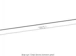 Шкаф-купе 3 Simple Шлегель (комплект щеток)
