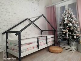 Кровать Сонечка домик 1 ярусный