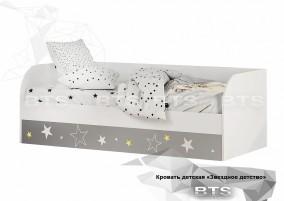 Трио Звездное детство Кровать детская (с подъёмным механизмом) КРП-01