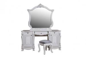 Касандра Туалетный стол, зеркало и пуф