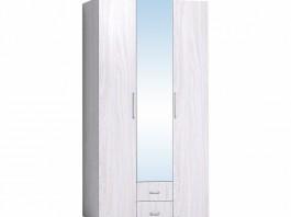 Монако 444 Шкаф для одежды и белья Ясень Анкор светлый