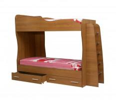 Юниор-1 Кровать двухъярусная