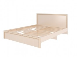 Беатрис модуль №10 Кровать с ортопедическим основанием и мягкой спинкой