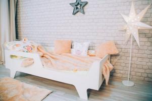 Кровать детская Бэби ЛДСП