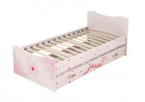 Принцесса №4 Кровать с ящиком