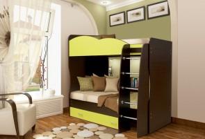 Юниор-2.1 Кровать двухъярусная