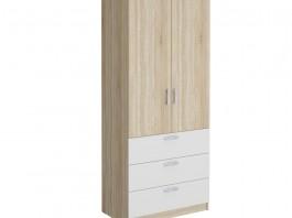 Салоу-900 Шкаф гардеробный с 3 ящиками