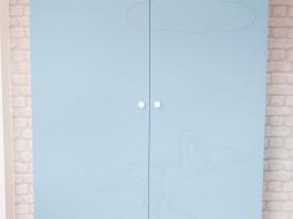 Шкаф детский Журавлик суперматовый