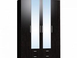 Монако 555 Шкаф для одежды и белья Венге