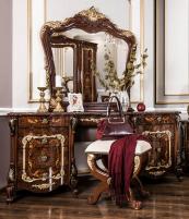 Энрике Туалетный стол + пуфик + зеркало