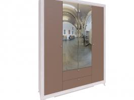 Саванна М01 Шкаф четырехдверный