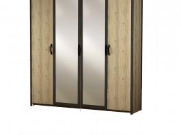 Гранж №886 Шкаф 4-дверный