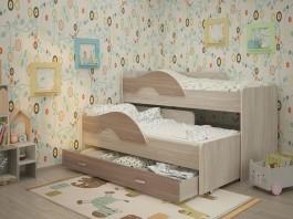 Радуга Выкатная кровать 1,6 с ящиком