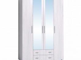 Монако 555 Шкаф для одежды и белья Ясень Анкор светлый