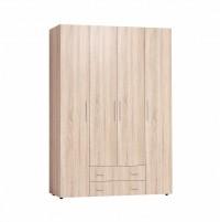 Монако 555 Шкаф для одежды и белья Стандарт Дуб Сонома