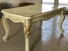 Журнальный стол №3 слоновая кость