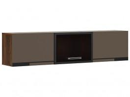 Браун №5 шкаф навесной горизонтальный
